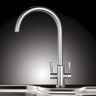 💖 FRANKE® Ascona Silk Steel Tap Sink Mounted Mono Mixer Tap