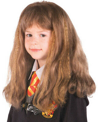 Harry Potter Hermione Granger Girls Brown Wig One Size