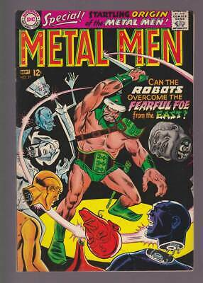 Metal Men # 27  The Fearful Foe from the East !  grade 8.5 scarce book !