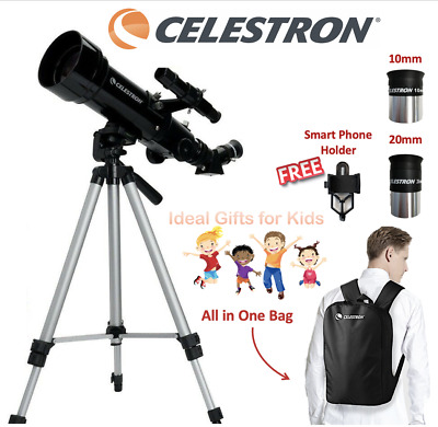 CELESTRON Terrestrial Astronomical Compact Telescope Travel Powerseeker 70400