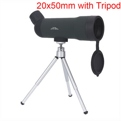 20x50 Zoom Monocular Telescope Night Version Spotting Scope With Portable TripPJ