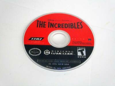 The Incredibles game for Nintendo GameCube -Loose