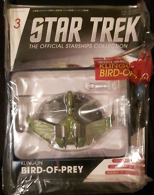 Star Trek Eaglemoss The Official Starships Collection Choose From Menu