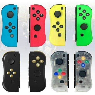 4Colors Joy-Con Game Controllers Gamepad Joypad for Nintendo Switch Console US
