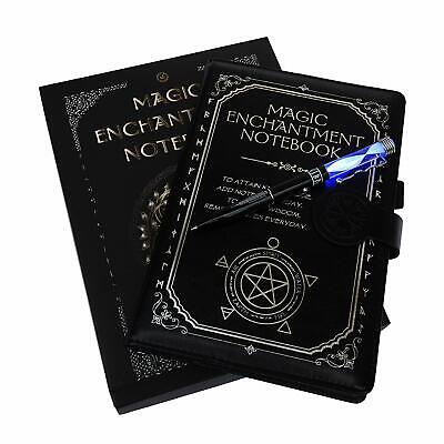 Monet Studios Magic Notebook/Notepad with Color Light Pen - Novelty Gothic Spell