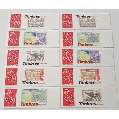 Timbre Personnalise N°3802A, 10 Timbres Marianne Lamouche Timbres Magasine Guyan