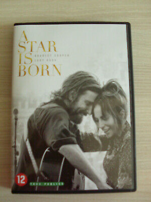 DVD A STAR IS BORN ( Bradley cooper,Lady Gaga ) comme neuf