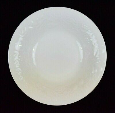 "Gibson Housewares China Fruit Pattern White Coupe Soup Bowl 8"" Diameter"
