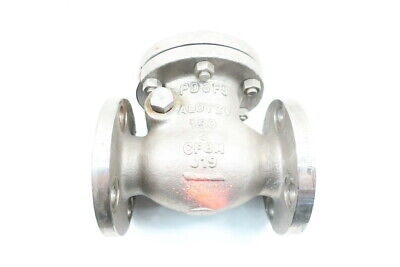 Aloyco 377CO2*020 275psi 150 Stainless Flanged 2in Check Valve