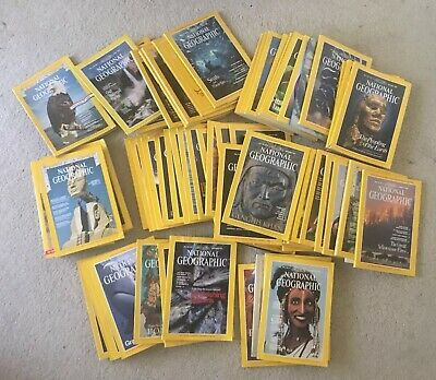 Lot 10 National Geographic Magazine Random Pick 1960s - 2010s No duplicate