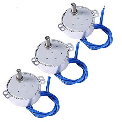 3PCS ELECTRIC SYNCHRON Motor Turntable Synchronous Motor Cup