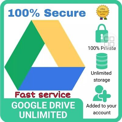1+1 G-Suite Unlimited Google Drive Storage Lifetime On Your Acc Or G-Suite