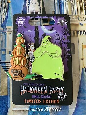 Disney World 2019 Mickey's Not So Scary Halloween Party NBC Oogie Boogie LE Pin