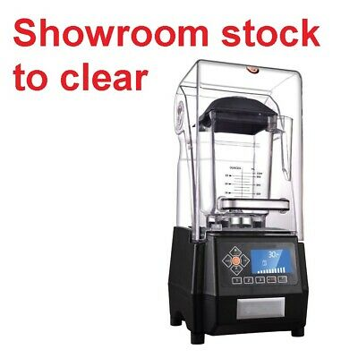 Showroom Stock - 1800W Commerical Blender LCD display 2 Liter Jug included