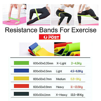 Professional Resistance Bands For GYM Fitness Strength Yoga Exercise