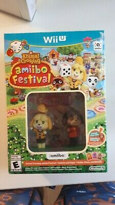 Animal Crossing amiibo Festival Wii U - FAST AND FREE SHIPPING - BRAND NEW !!