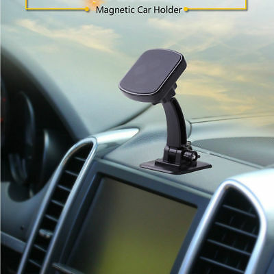 Universal In Car Magnetic Phone Holder Dashboard Mount 360° Rotary Stand