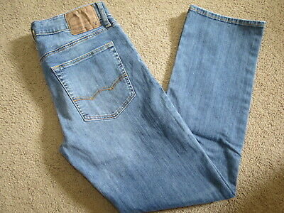 VGC American Eagle Outfitters extreme flex orig straight denim jeans mens 32x31