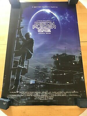 "Ready Player One D/S Authentic Movie Poster 27""x40""*Steven Spielberg"