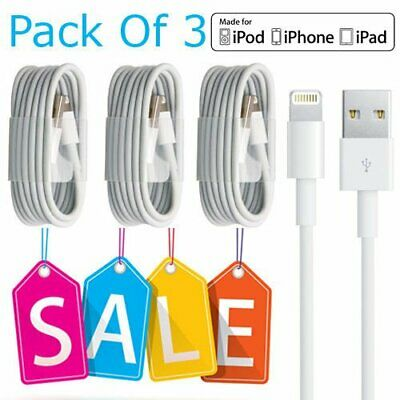 Lightning USB Charger Lead Cable Apple For iPhone 5 5S 6 6S 7 8 Plus X XS MAX
