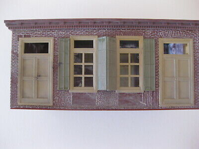 HO SCALE SMALL Factory Building Model Railroad