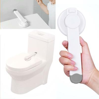 Baby Child Safety Lock Indoor Toilet Seat Lid Locks Drawer Security Protection