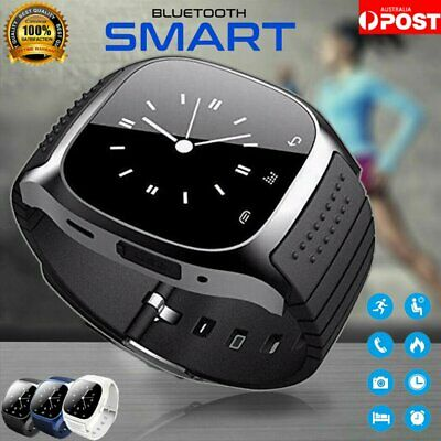 Waterproof Bluetooth Smart Watch Wrist Phone Mate For Andriod Samsung iPhone IOS