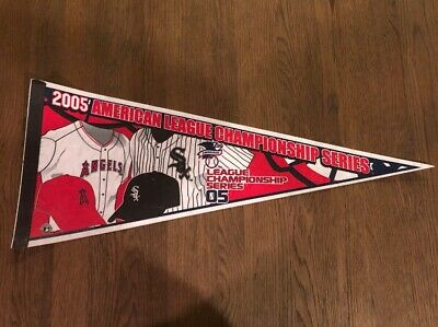 2005 Chicago White Sox Vs Anaheim Los Angeles Angels MLB Playoffs ALCS Pennant