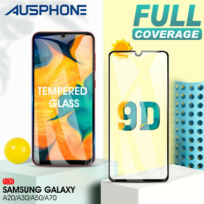 Samsung Galaxy A20 A30 A50 A70 9H Tempered Glass LCD Screen Protector Film Guard