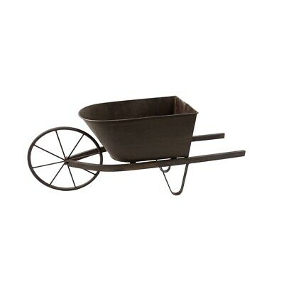 Lotus Collection Rustic Wheelbarrow Planter - 2890763