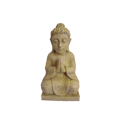 Lotus Collection Fibre Clay Buddha Statue - DB262048