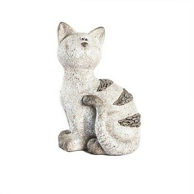 Tuscan Path Resin Provincial Cat Garden Statue -