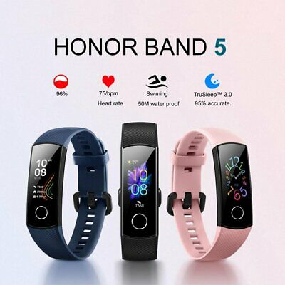 Huawei Honor Band 5 Smart-Armband 0.95'' Touchscreen Herzfrequenz-Schlafmonitor