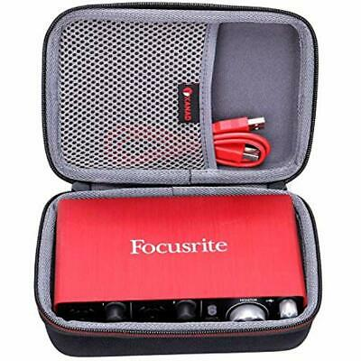 Case Compatible Focusrite Scarlett Solo 2i2 2nd Gen USB Audio Interface Pro