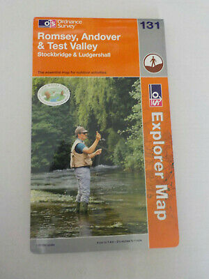 Ordnance Survey Explorer Map Romsey, Andover and Test Valley 131