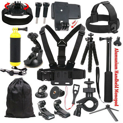 Accessories Kit for Gopro Hero 7 6/5/ Hero 5/4 Session 3+ for Sony Action Camera
