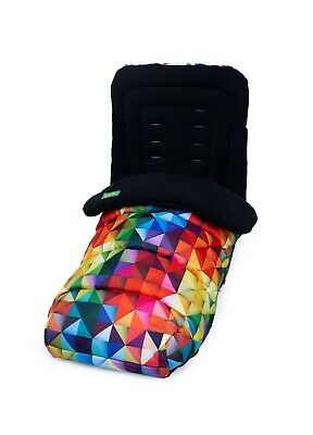 Brand new in bag Cosatto Universal deluxe 2 in 1 Footmuff & Liner in Spectroluxe