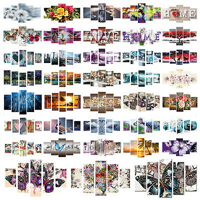 5-Pictures 5D DIY Full Diamant Painting Diamond Kreuzstich Bilder Stickpackung