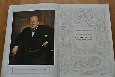 Winston Churchill the Greatest Figure of Our Time - Vintage / Antique Book