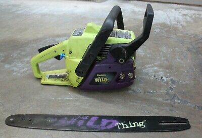 POULAN WILD THING Chain Saw 2375 Kill Switch - $10 00 | PicClick