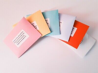 Spell Envelopes - Choose from List - Witch Pagan Wicca Witchcraft Magic Ritual