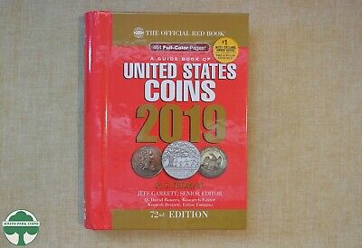 2019 HIDDEN SPIRAL REDBOOK - OFFICIAL PRICE GUIDE FOR U.S. COINS - 72rd EDITION