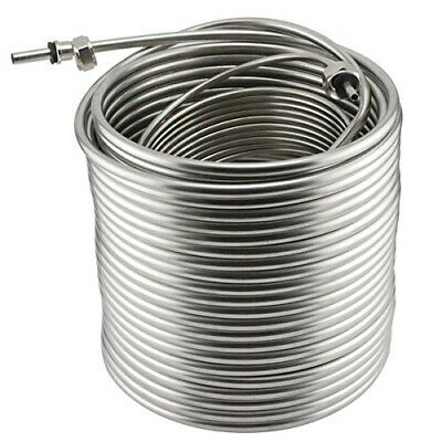Jockey Box Stainless Steel Coil - 120' - Left Hand Coil