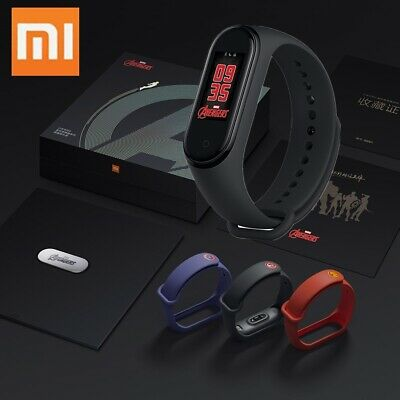 "Newest Xiaomi Mi Band 4 NFC Music Smart Bracelet BT 5.0 0.95"" AMOLED E0T9"