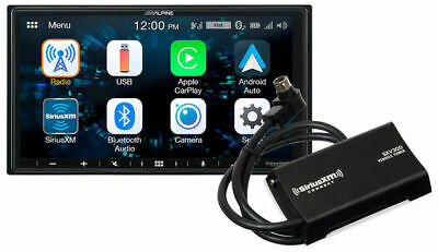 Alpine iLX-W650 Receiver w/ Apple CarPlay & Android Auto + SiriusXM SXV300v1