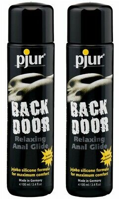 Pjur Back Door Silicone Anal Lubricant 100ml TwinPack