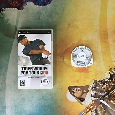 Tiger Woods PGA Tour 06 • Sony PlayStation Portable PSP