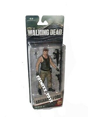 Amc The Walking Dead Series 8 Abraham Ford Action Figure Mcfarlane Toys