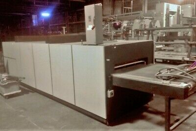 """36"""" Wide Industrial Furnace Heat Treatment • Belt Type Excellent Condition"""