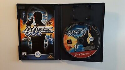 Agent Under Fire - James Bond 007 - cib - PS2 PlayStation 2 Sony COMPLETE